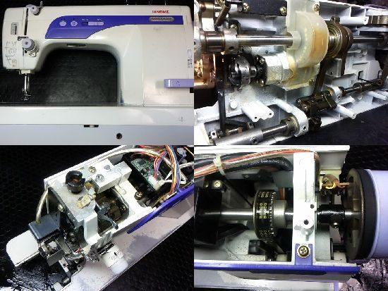 コスつーら767DBのジャノメミシン修理
