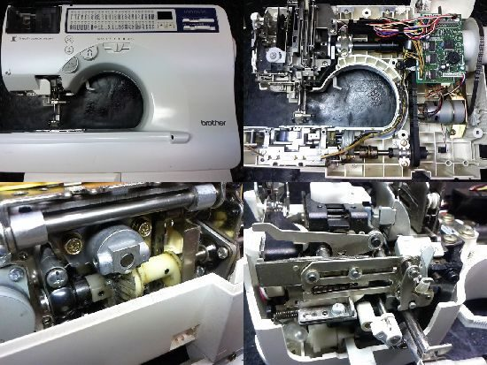 イノヴィスC61のブラザーミシン修理
