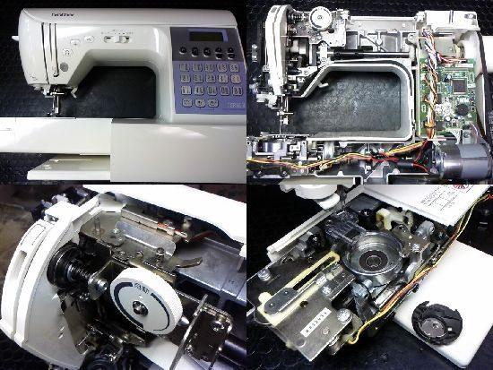 フェリエ2CPS7202のブラザーミシン修理