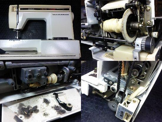 エクセル20(627)のジャノメミシン修理