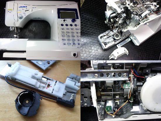 エクシードHZL-F600JPのJUKIミシン修理