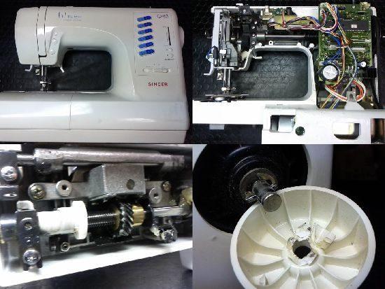 SINGERミシン修理フィットライン6700