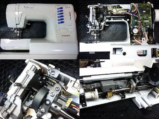 フィットライン6700のシンガーミシン修理