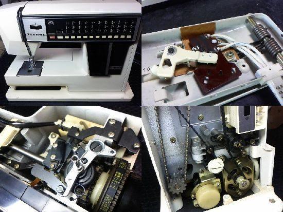 ジャノメミシン修理メモリア5001