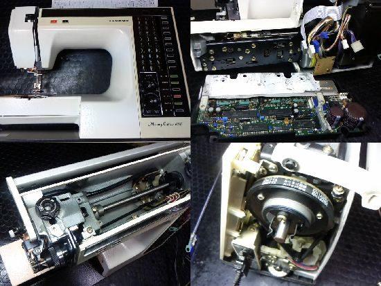 ジャノメミシン修理メモリークラフト6000