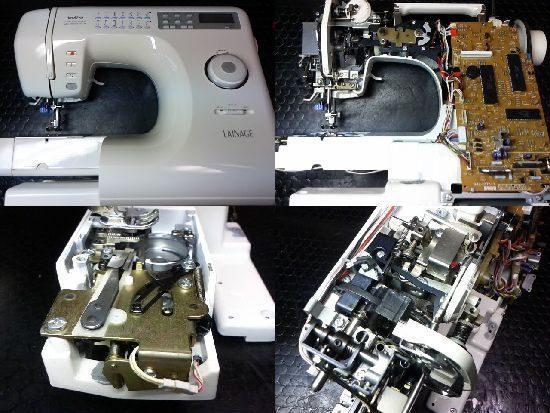 レナージュZZ3-B833のブラザーミシン修理