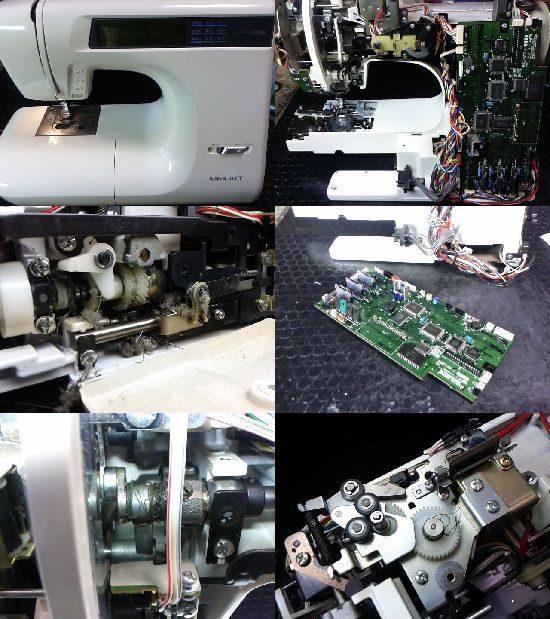 ブラザーミモレのミシン修理