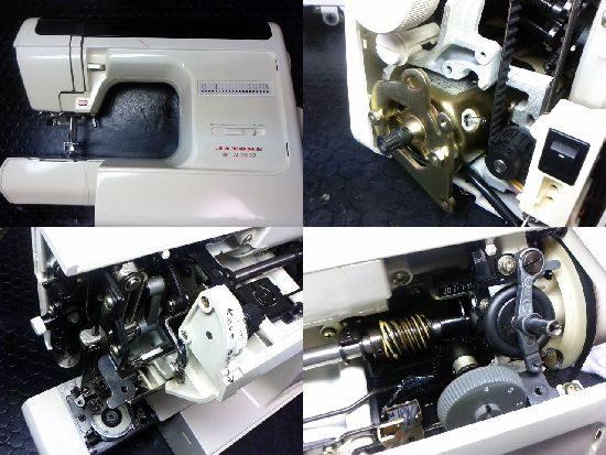 ジャノメN3000のミシン修理
