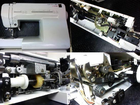 ルミナ3000のシンガーミシン修理