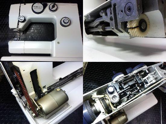 リッカーRZ-2600のミシン修理