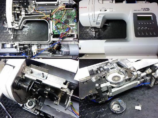 シンガーミシン修理モナミヌウプラスSC-200