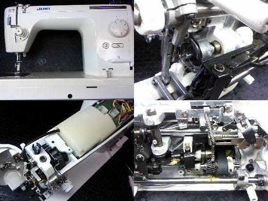 シュプール25SPのJUKIミシン修理