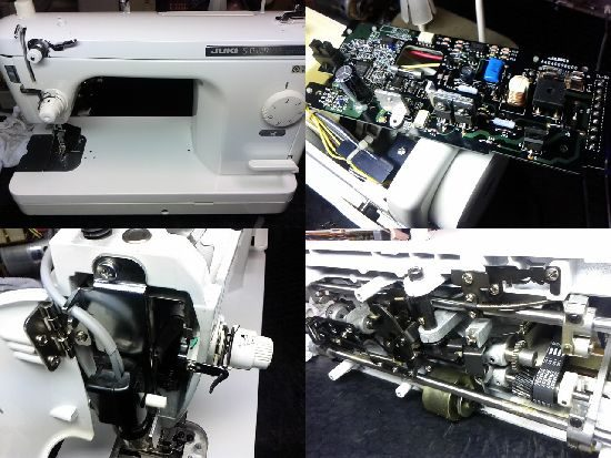 JUKIシュプール98スペシャルのミシン修理