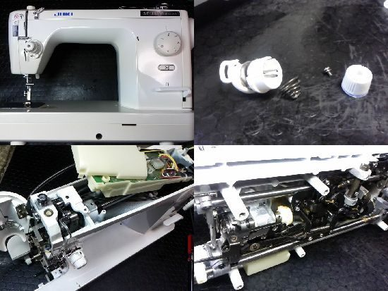 シュプール98スペシャルNのJUKIミシン修理