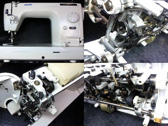 シュプール98SXのJUKIミシン修理