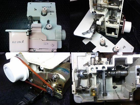 ベビーロックミシン修理BL2-205A