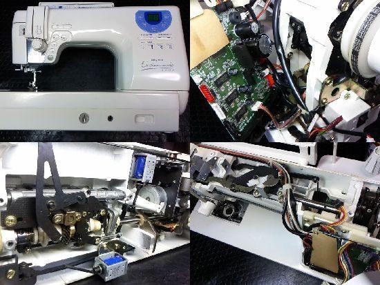 ベビーロックミシン修理エクシムモード3000