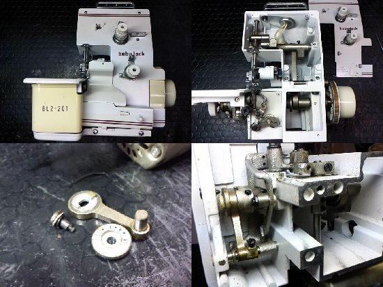 BL2-201のベビーロックミシン修理