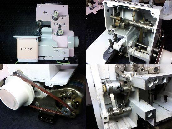 ベビーロックミシン修理BL2-202
