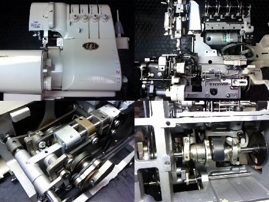 衣縫人BL57のベビーロックミシン修理