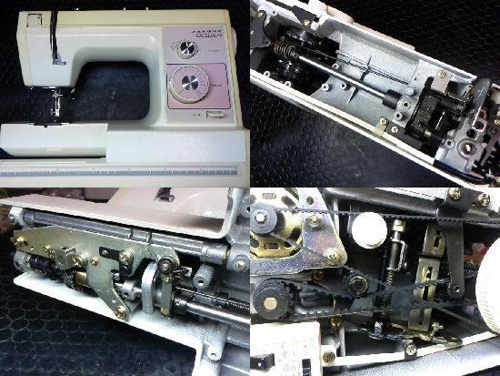 ジャノメミシン修理エクセル10SP
