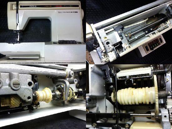 ジャノメミシン修理エクセル20