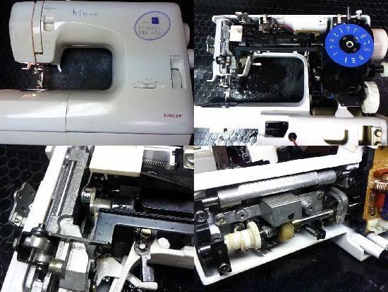 シンガーミシン修理フィットライン6200