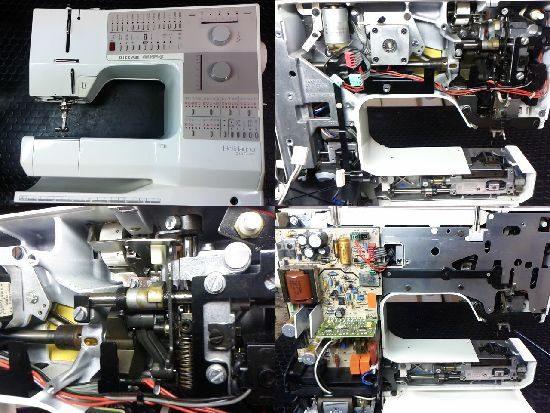 ホリデーヌ1240のミシン修理