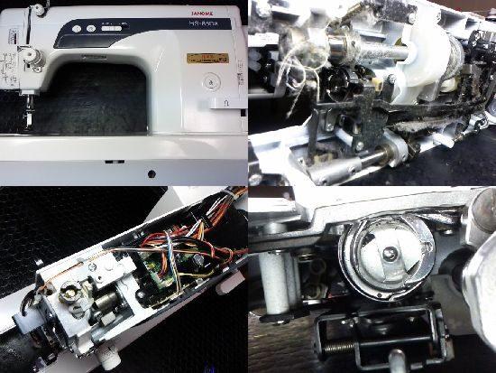 JANOMEミシン修理HS-85DX(767型)