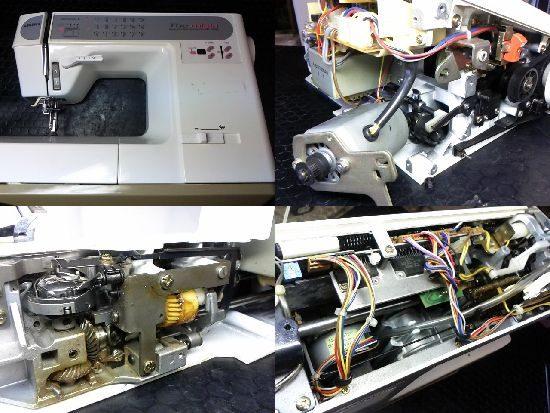 JUKIミシン修理HZL-7600