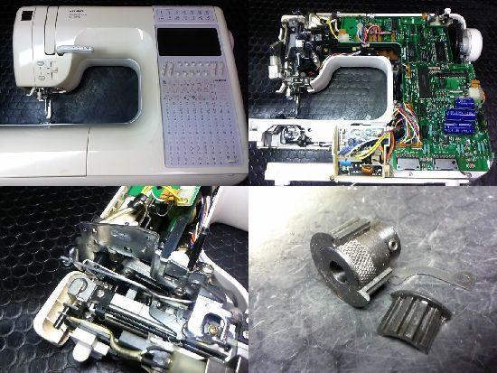 JUKIミシン修理HZL-9900