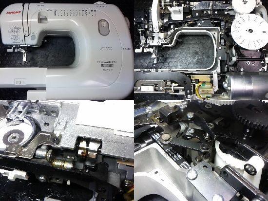 ジャノメミシン修理JF310