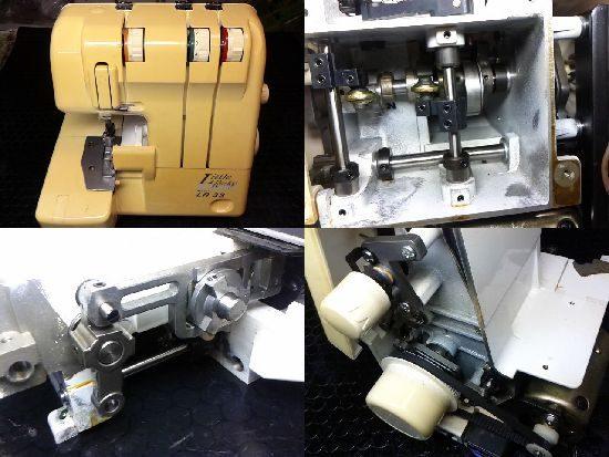 ベビーロックミシン修理リトルロッキーLR3S