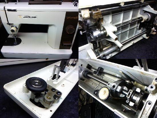 ジャガーミシン修理ベルベットMT303