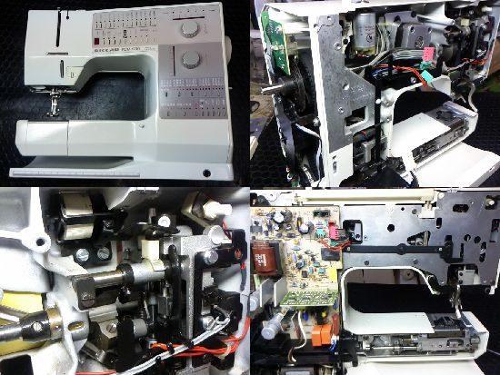 リッカーミシン修理RCM1230