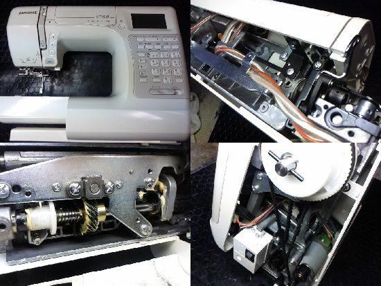 ジャノメミシン修理S7800(844型)