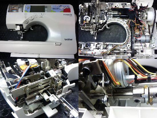 ブラザーミシン修理イノヴィスSN100(EMS11)