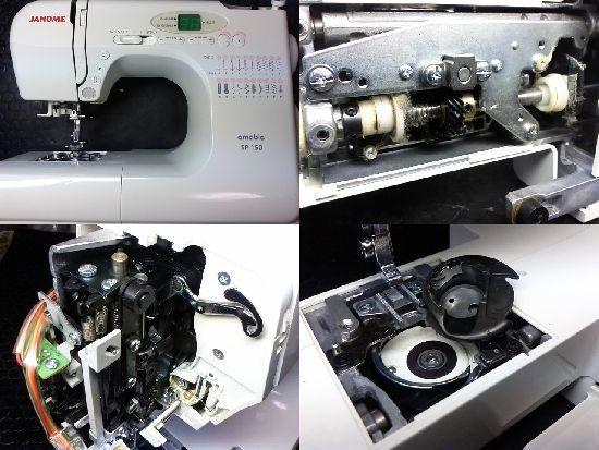 ジャノメミシン修理amableSP-150
