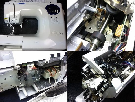 JUKIミシン修理HZL-T470