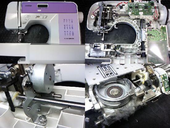 ブラザーミシン修理W-7100