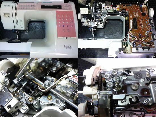 ブラザーミシン修理テンディ7000