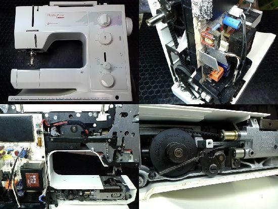 ホリデーヌ1021のミシン修理