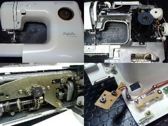 ジャノメミシン修理Lafailia5550DX