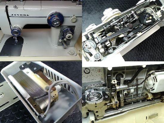ジャノメミシン修理トピア801型