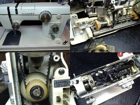 ジャノメミシン修理トピアエース802