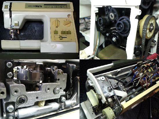 リッカーマイティB3のミシン修理