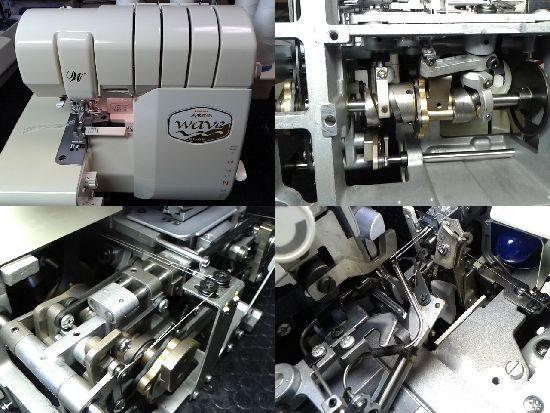 ベビーロックミシン修理 糸取物語BL68W