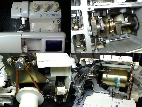 ベビーロックふらっとろっくBL72のミシン修理