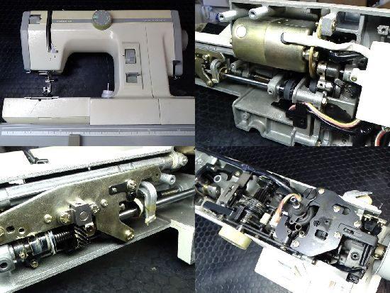 ジャノメミシン修理コンビDX2000型
