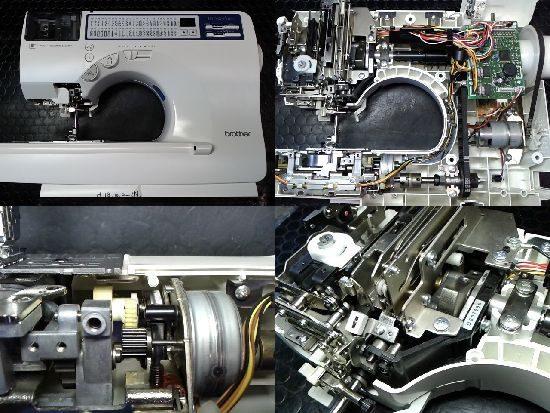 ブラザーイノヴィスC61(CPS05)のミシン修理